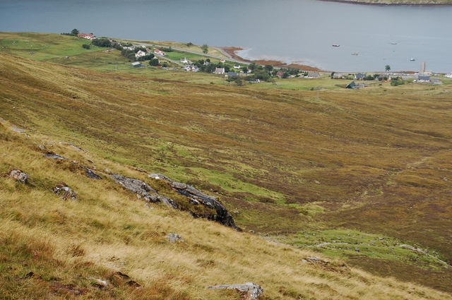Northern slopes of An Coileach
