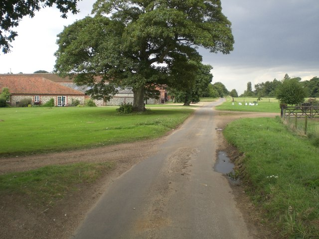 Barns and outbuildings, Rudham Grange
