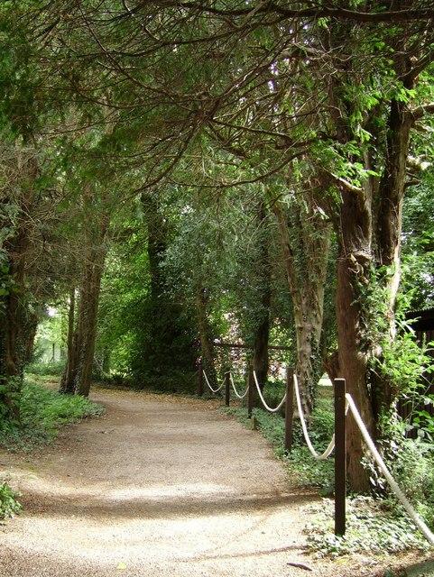 Footpath at Staunton Harold