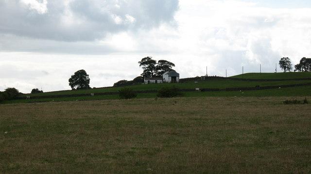 Pastureland near Hollin Hill