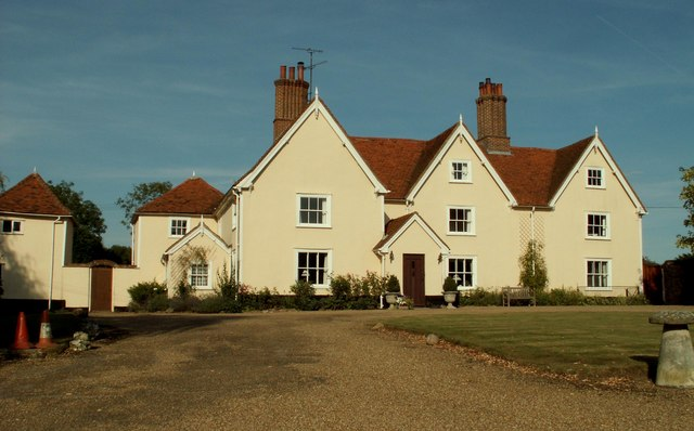 Farmhouse at Matching Hall Farm