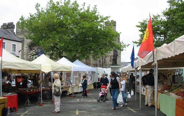 Y Farchnad Ffrengig. The French Market, Caernarfon