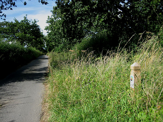 Bray's Lane with Roadside Nature Reserve