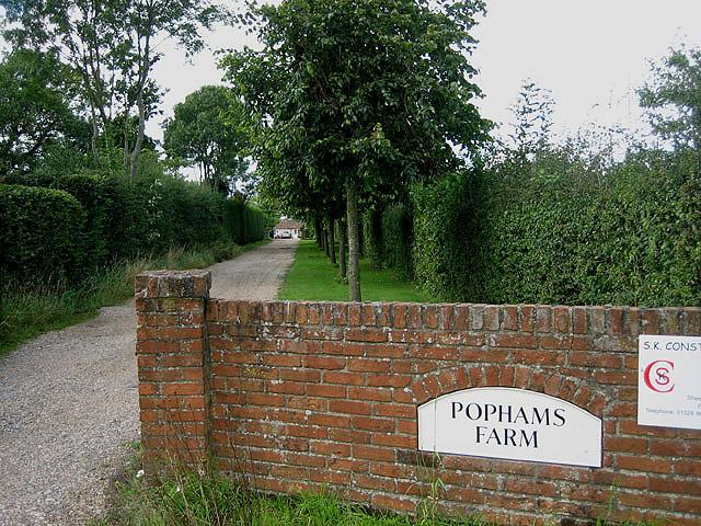 Popham's Farm, Hindolveston Road, Thurning