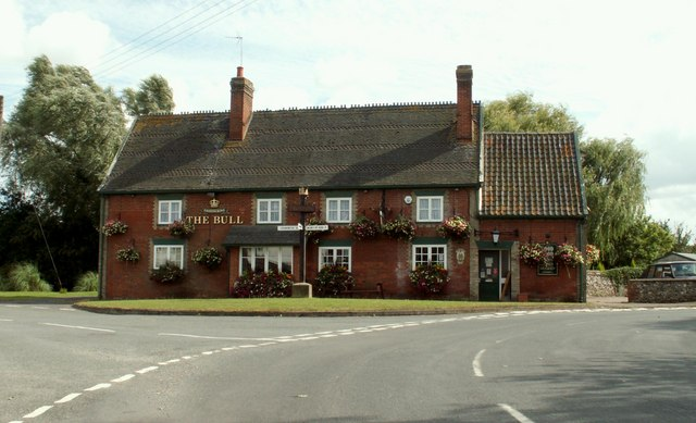 'The Bull' inn at Troston