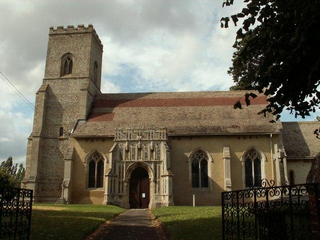 St. Mary; the parish church of Troston