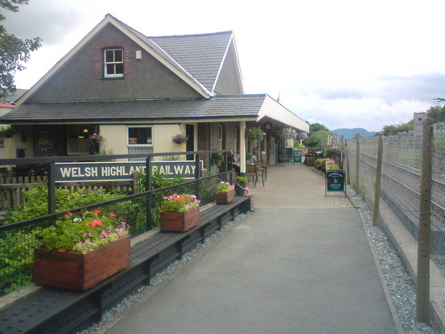 Welsh Highland Railway (The original Porthmadog end)
