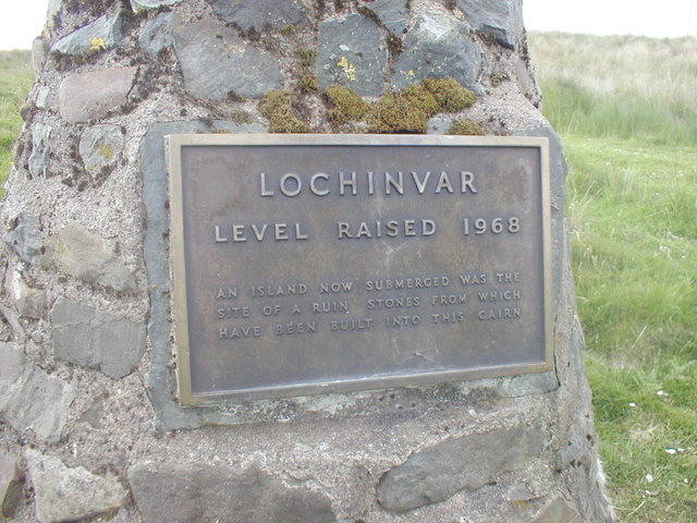 Detail of the Cairn at Lochinvar