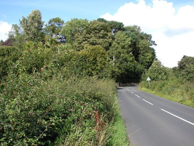 Country road to Lower Braidwood