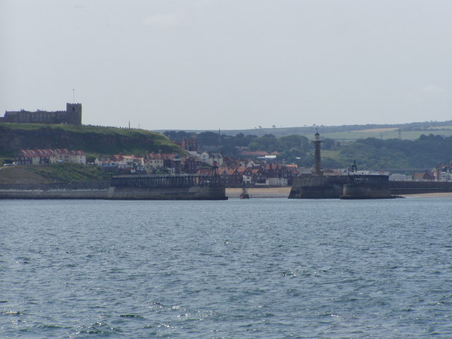 A view of the channel at Whitby