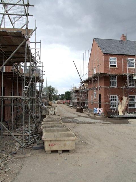 New Housing Estate, Horncastle