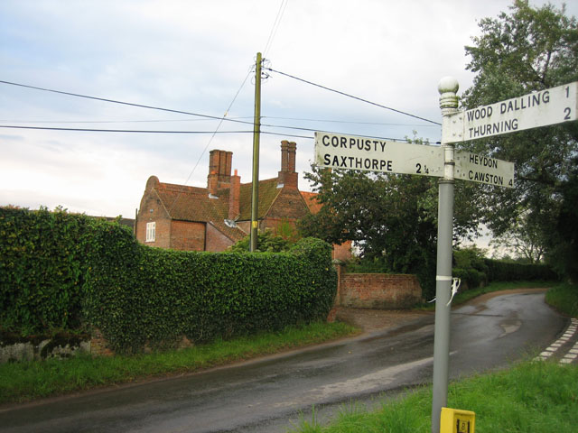 Cropton Hall at the crossroads