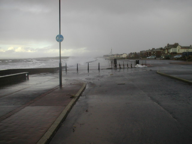 Northern View from near Prestwick Sailing Club