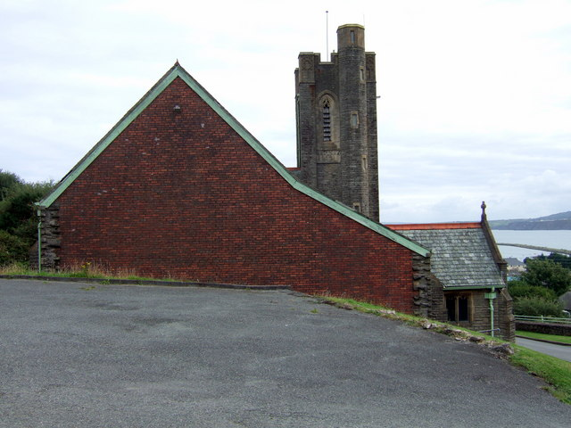 St Peter's church Wdig/Goodwick