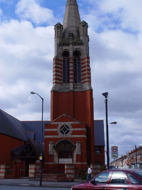 Princes Avenue Methodist Church - tower