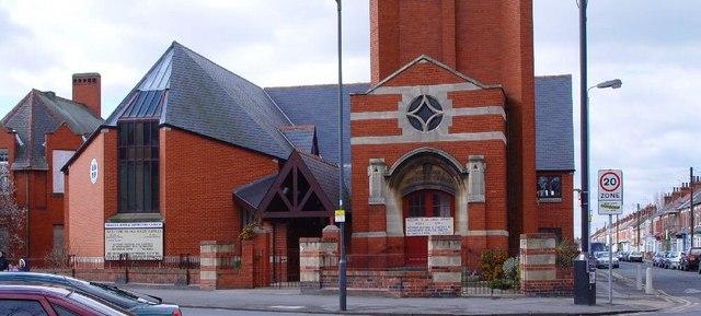 Princes Avenue Methodist Church.