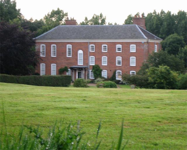 Irmingland Hall, near Saxthorpe: south facade