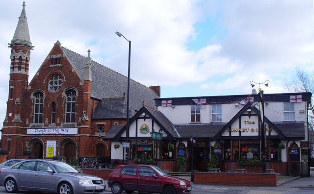 Church and Pub, Princes Avenue, Hull
