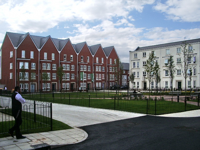 Broughton Green Square, Salford
