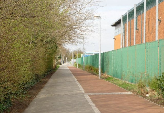 Cycle Track and Footpath.