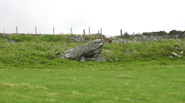 A burial chamber or the result of field clearance?