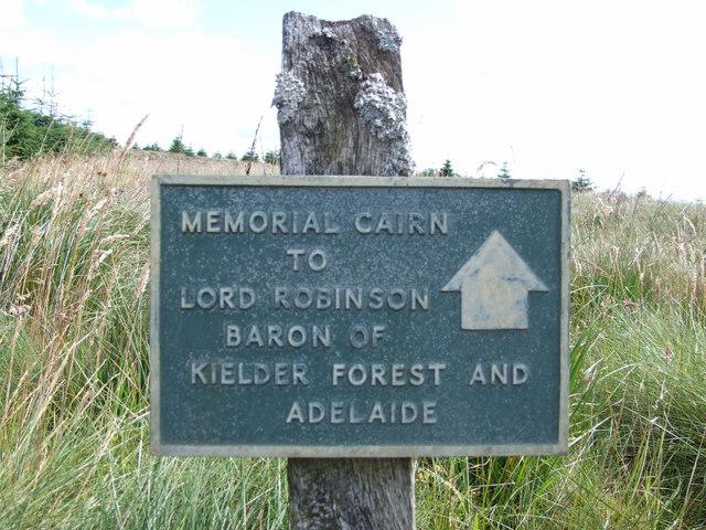 Robinson Memorial Cairn
