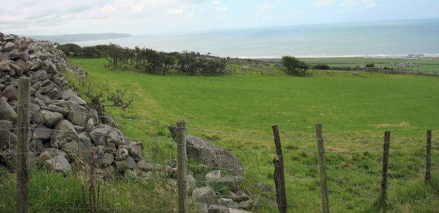 Improved hillside pastures.