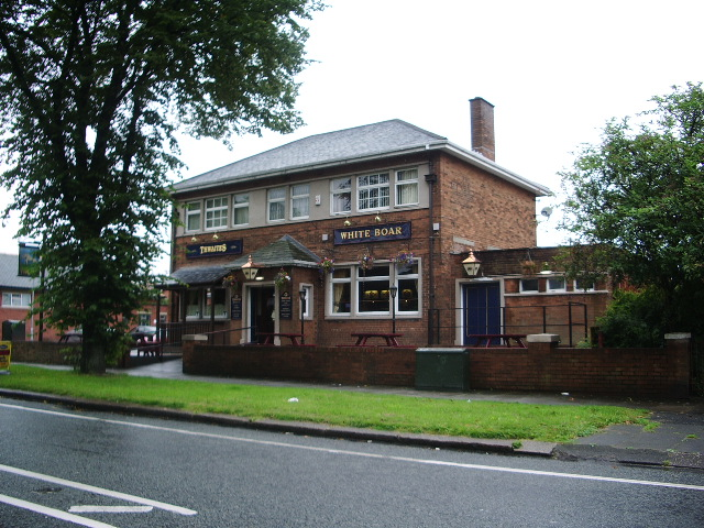 "The ""White Boar"" Radcliffe Road, Bury"