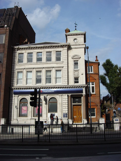 NatWest Bank, Finchley Road