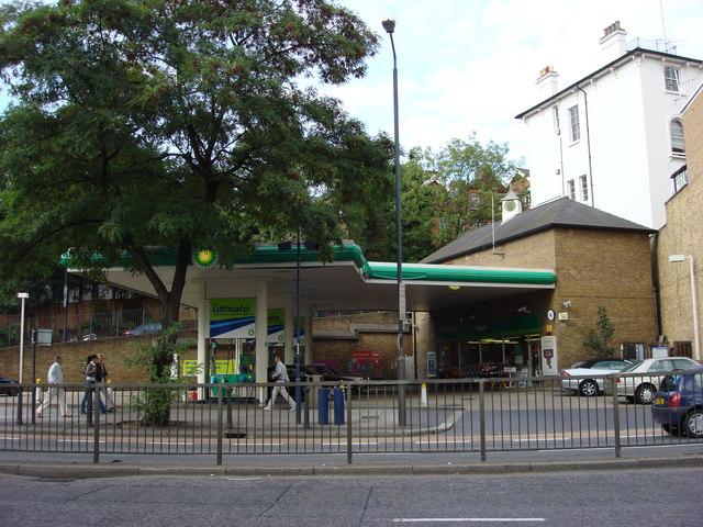 BP Petrol Station, Finchley Road