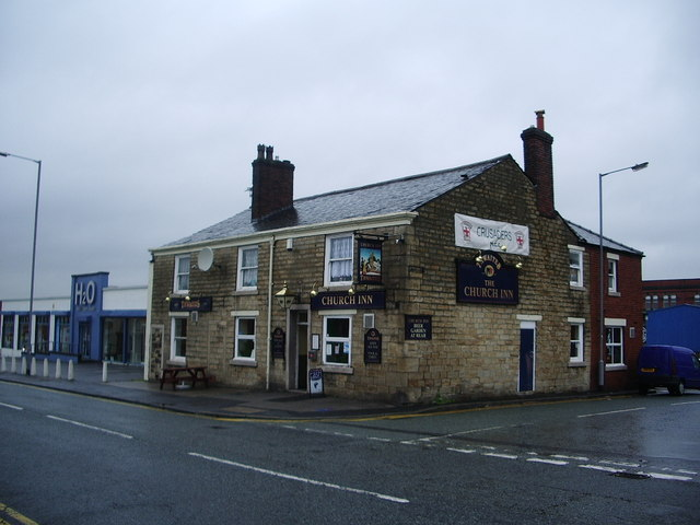 """The Church Inn"" Bury"