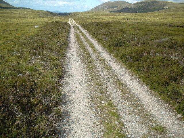 Loch Einich track