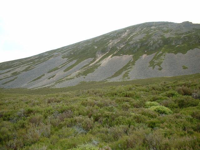 From Loch Einich track