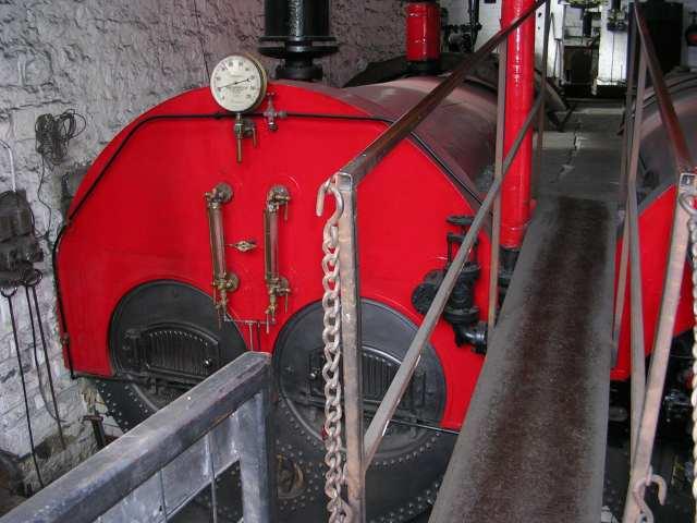 Queen Street Mill - Boiler House