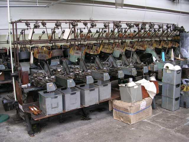 Queen Street Mill - Pirn Winding Machine