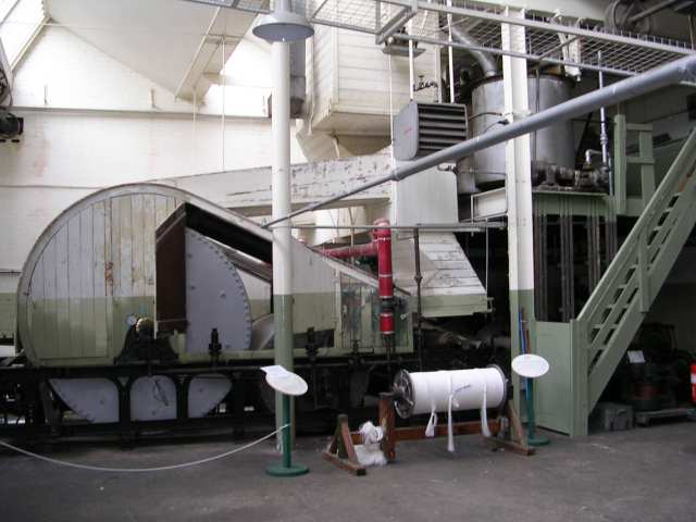 Queen Street Mill - Cylinder Sizing Machine