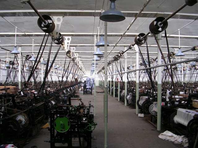 Queen Street Mill - Weaving Shed