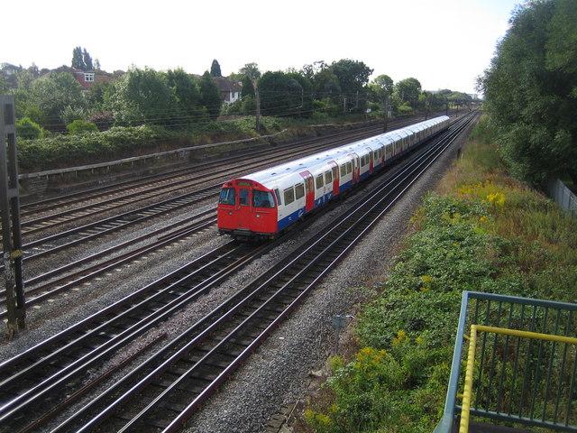 Bakerloo Line railway in Kenton