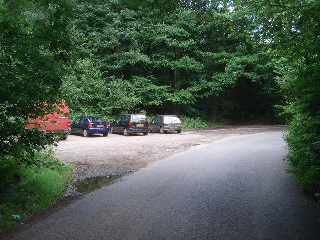 Car park at Linton Wood