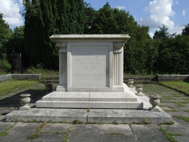 R101 Memorial, Cardington, Bedfordshire, England