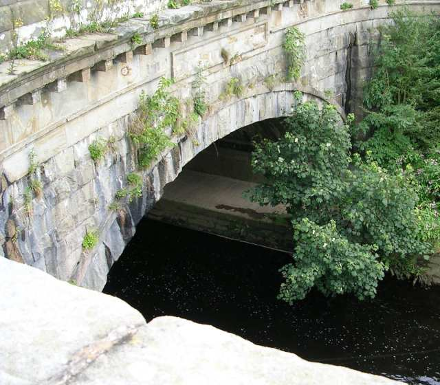 Arch of Aqueduct over Lancaster Canal
