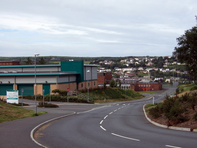 Leisure centre and new road