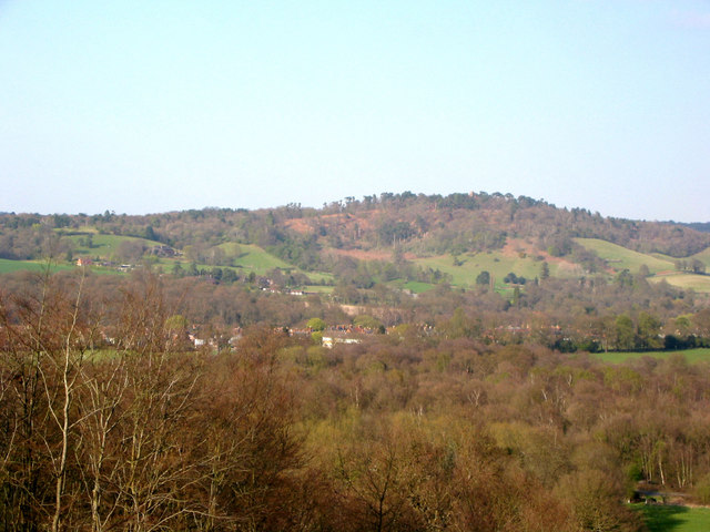 St Martha's Hill from Chinthurst Hill