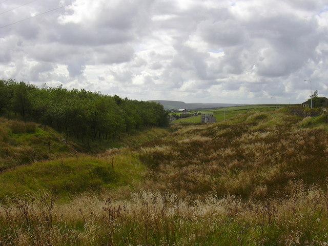 Sharneyford towards Bacup