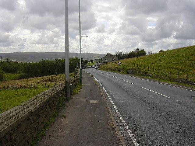 Todmorden Road, Sharneyford.