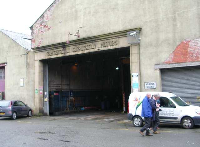 Rawtenstall Corporation Motors Garage