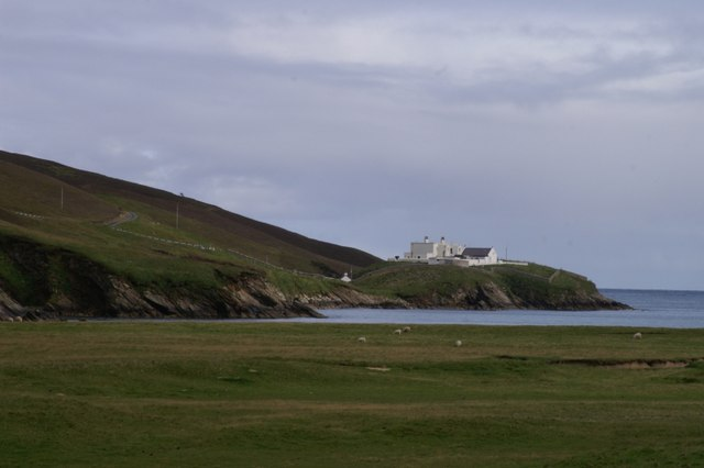 The Shore Station from Burrafirth links