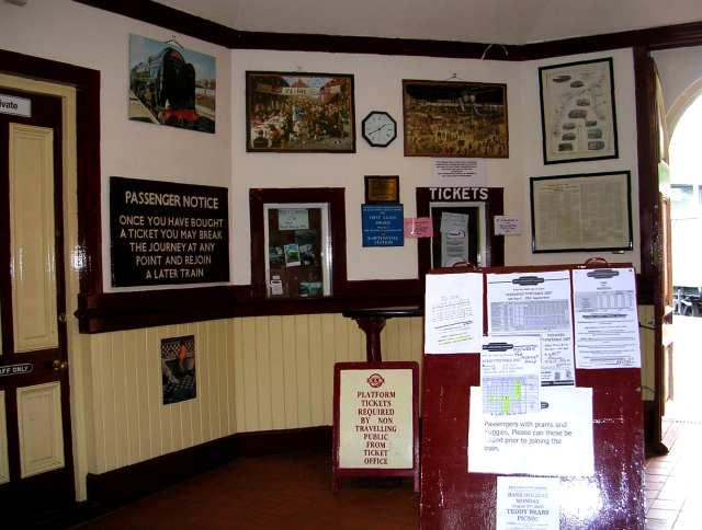 Booking Office - Rawtenstall Station