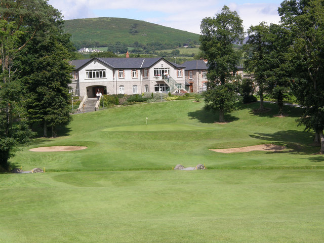 18th Fairway at Kilkeel Golf Course