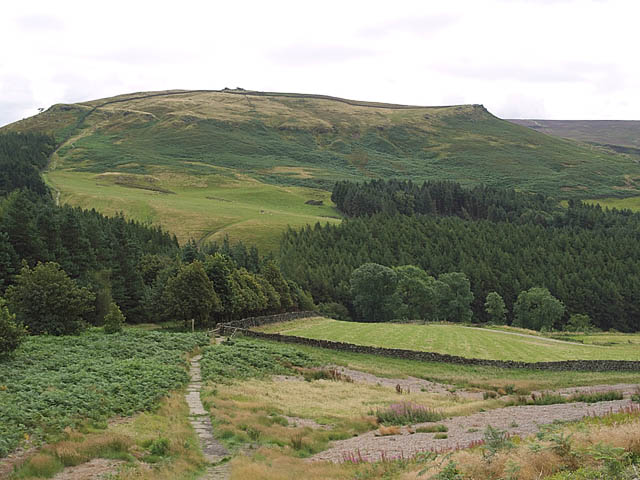View from bottom of Hasty Bank